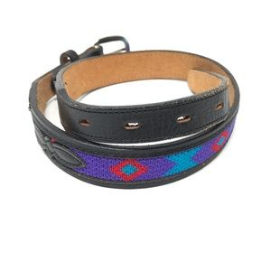 🍭Acme Western Size 26 Embroidered Belt Leather